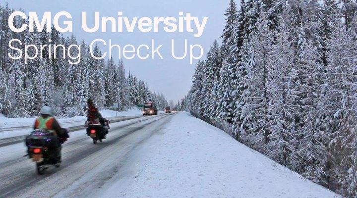 CMG University: Spring checkup
