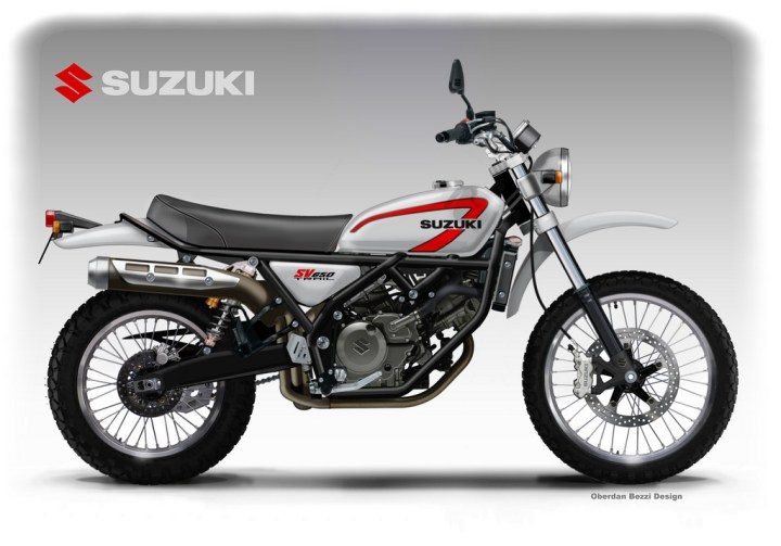 Check out this Suzuki SV650 trail concept (and other cool designs)