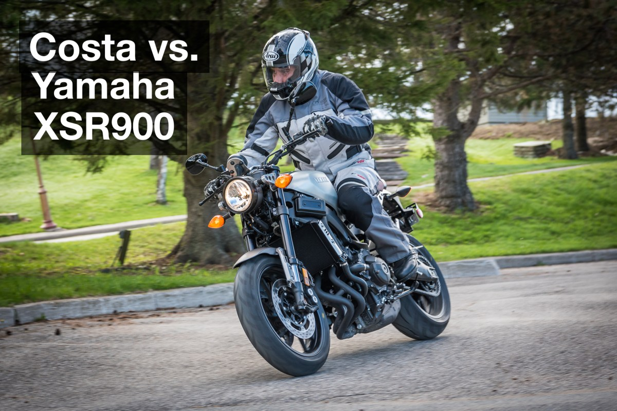 Costa vs. Yamaha XSR900