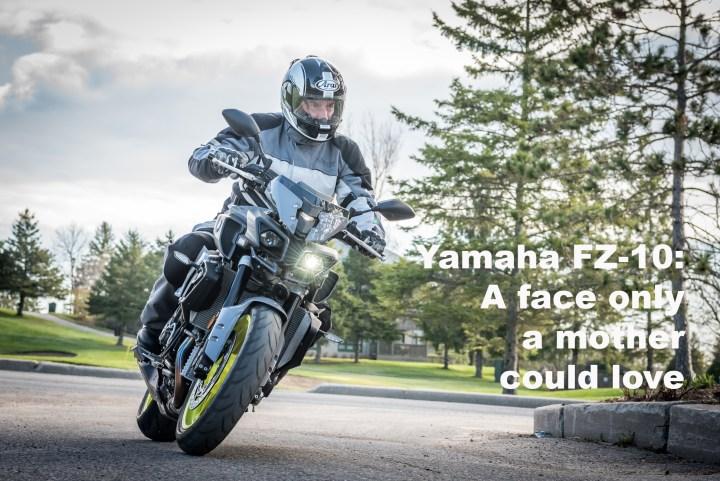 Naked fun on the Yamaha FZ-10