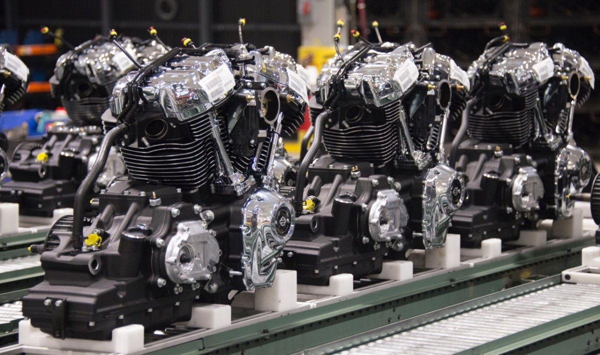Harley-Davidson Milwaukee Eight engine debuts
