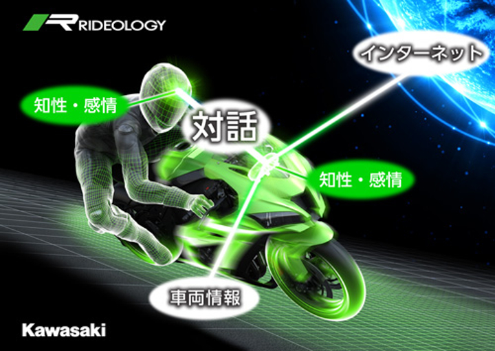 "Kawasaki building a ""smart bike"""