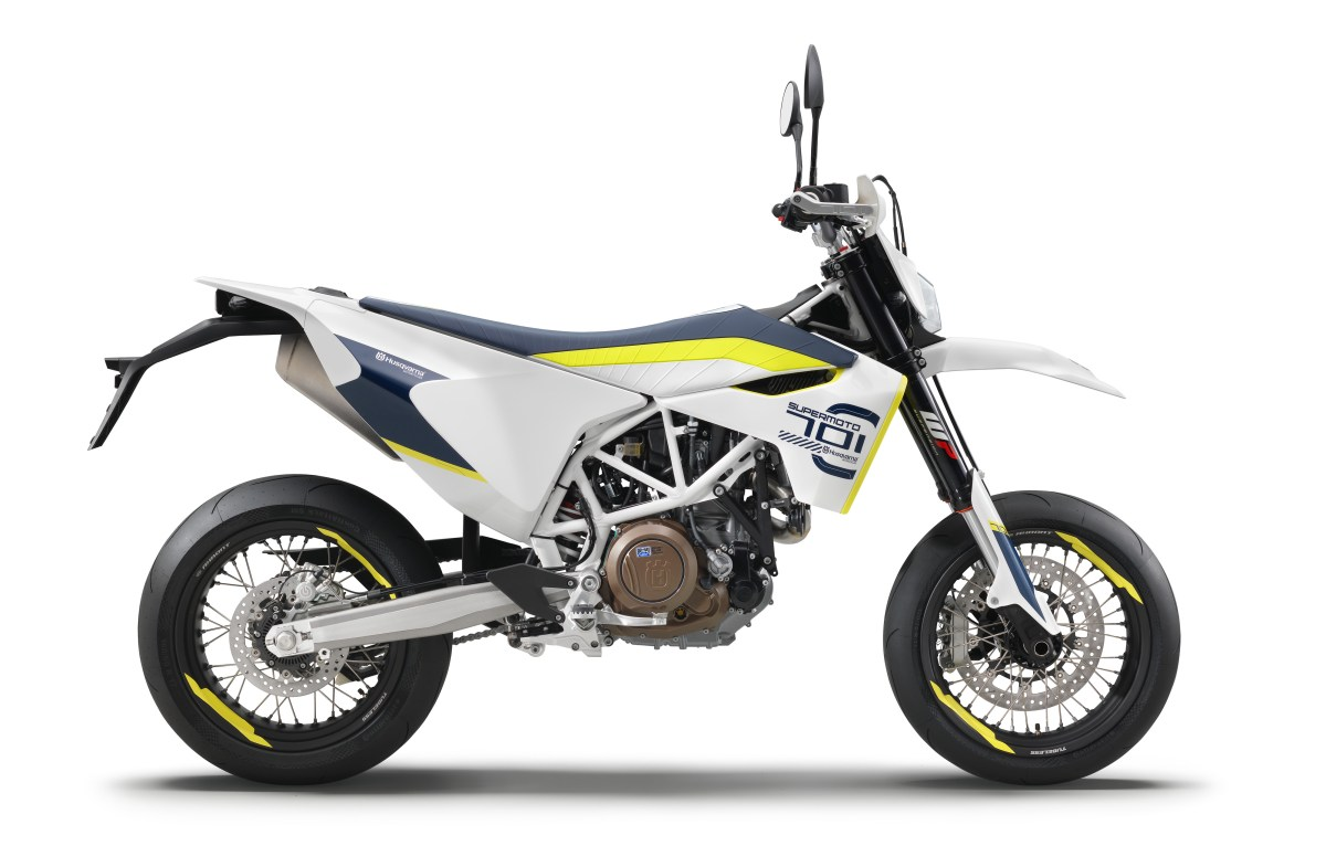 Husqvarna updates 701 Supermoto, Enduro