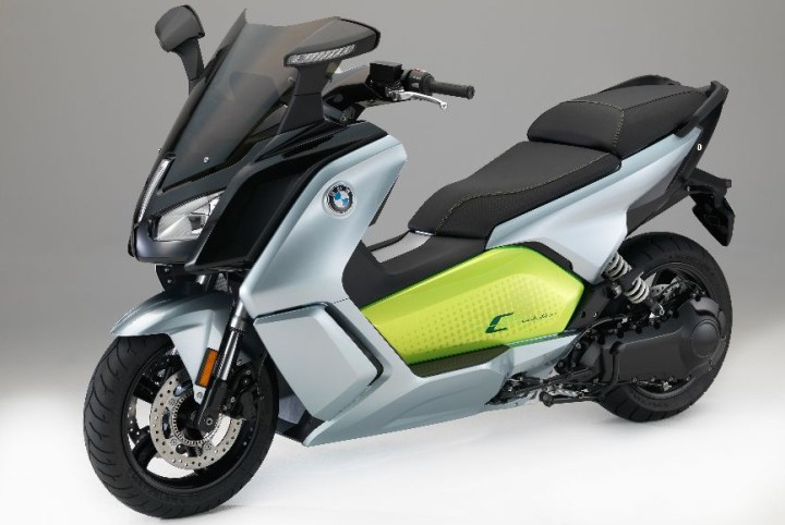 BMW upgrades C Evolution electric scooter