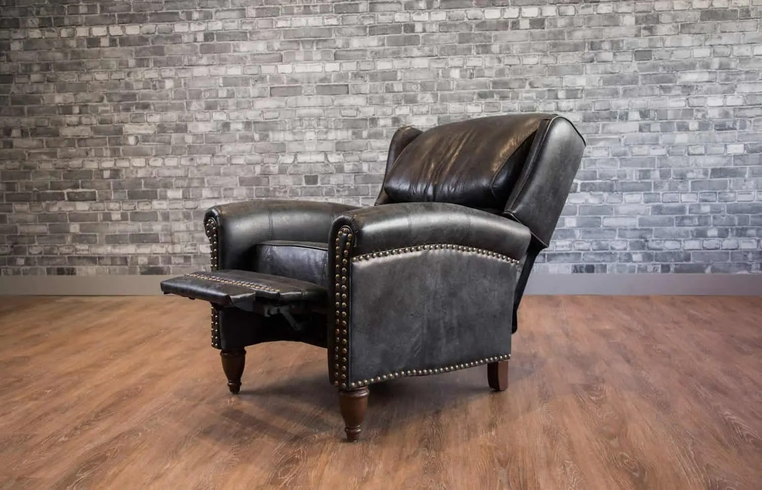 Leather Recliner Chairs Canada The Jameson Recliner Wingback Leather Chair Canada 39s