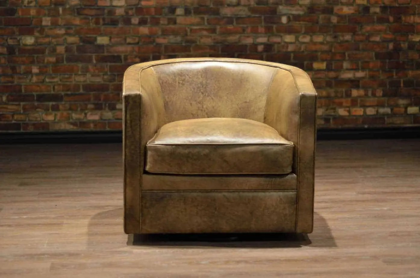 Leather Recliner Chairs Canada The Tub Leather Swivel Chair Collection Canada 39s Boss