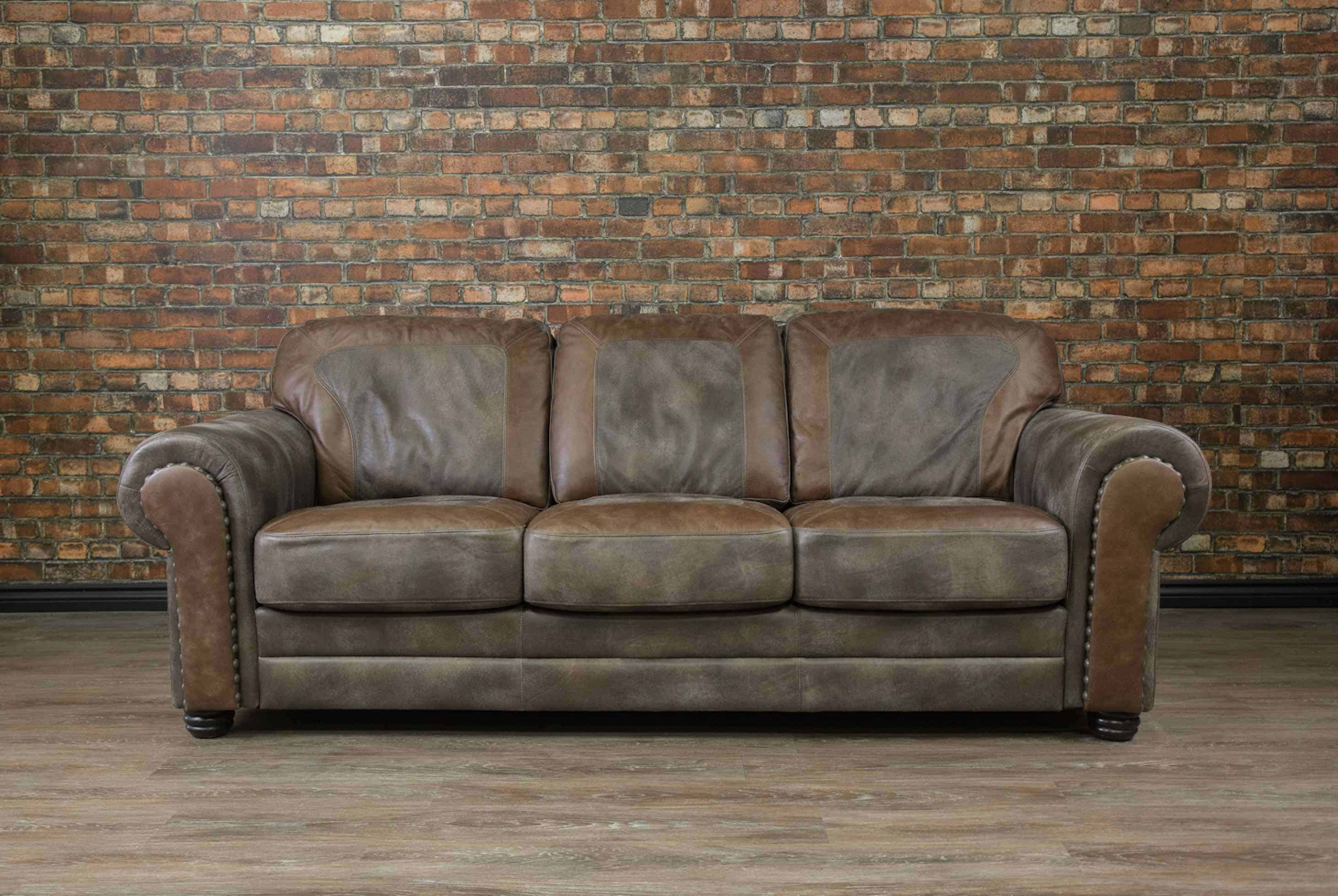 Bettsofa Vintage The Old West Leather Sofa