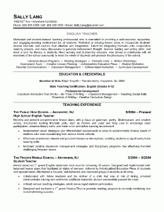 6 Lecturer Resume Samples Examples Download Now English Teacher Resume Example