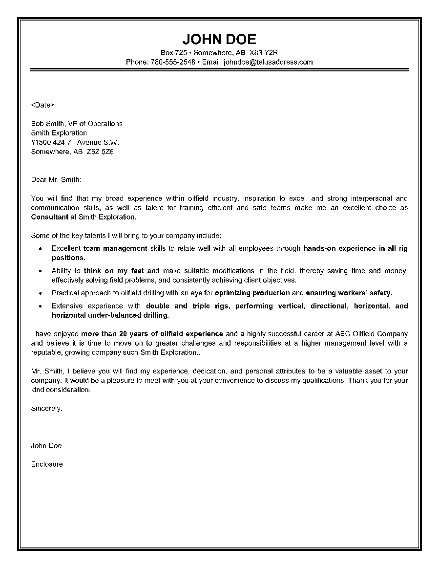Food service director resume cover letter