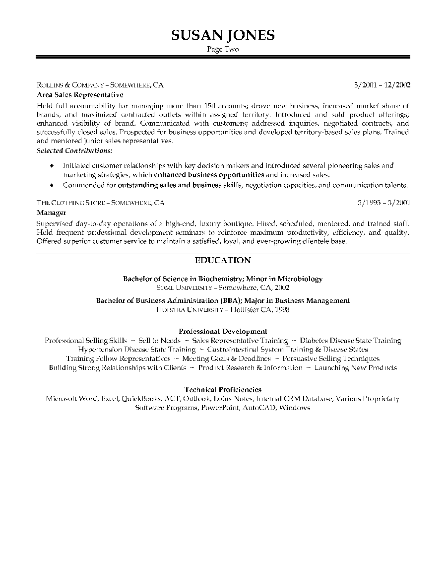 Keywords For A Pharmaceutical Sales Resume | Resume For Grad ...
