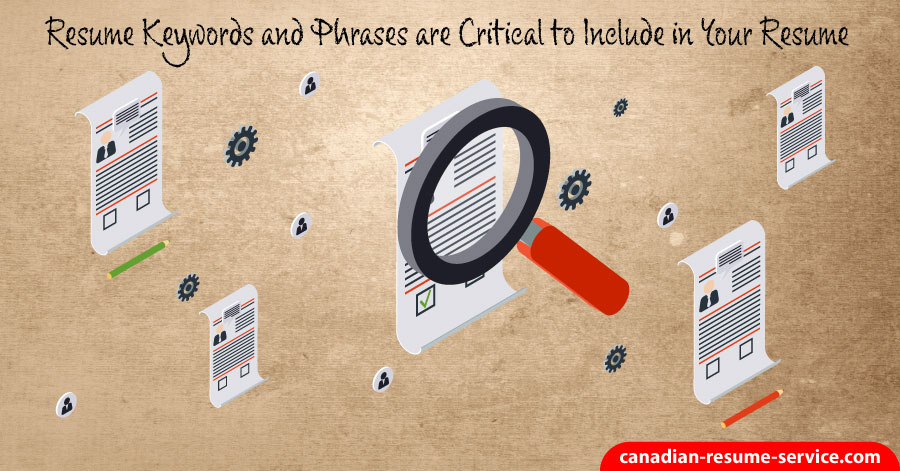 Resume Keywords and Phrases are Critical to Secure an Interview - resume keywords and phrases