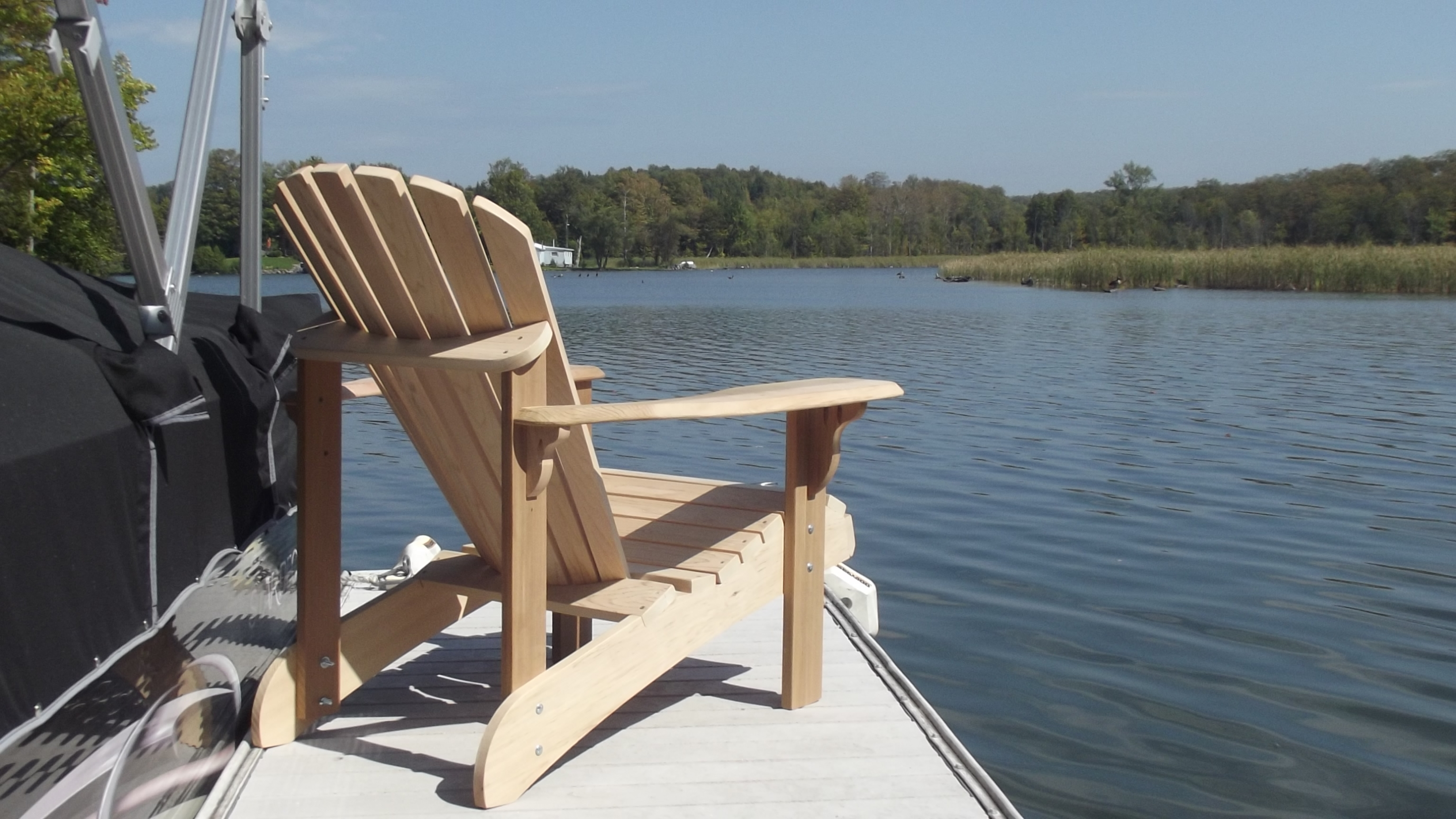 Quick Pool Pflege Muskoka Classic Chair Deluxe - Canadian Lifestyle