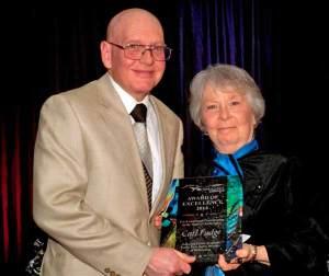 Carl Fudge honored by Endurance Canada.