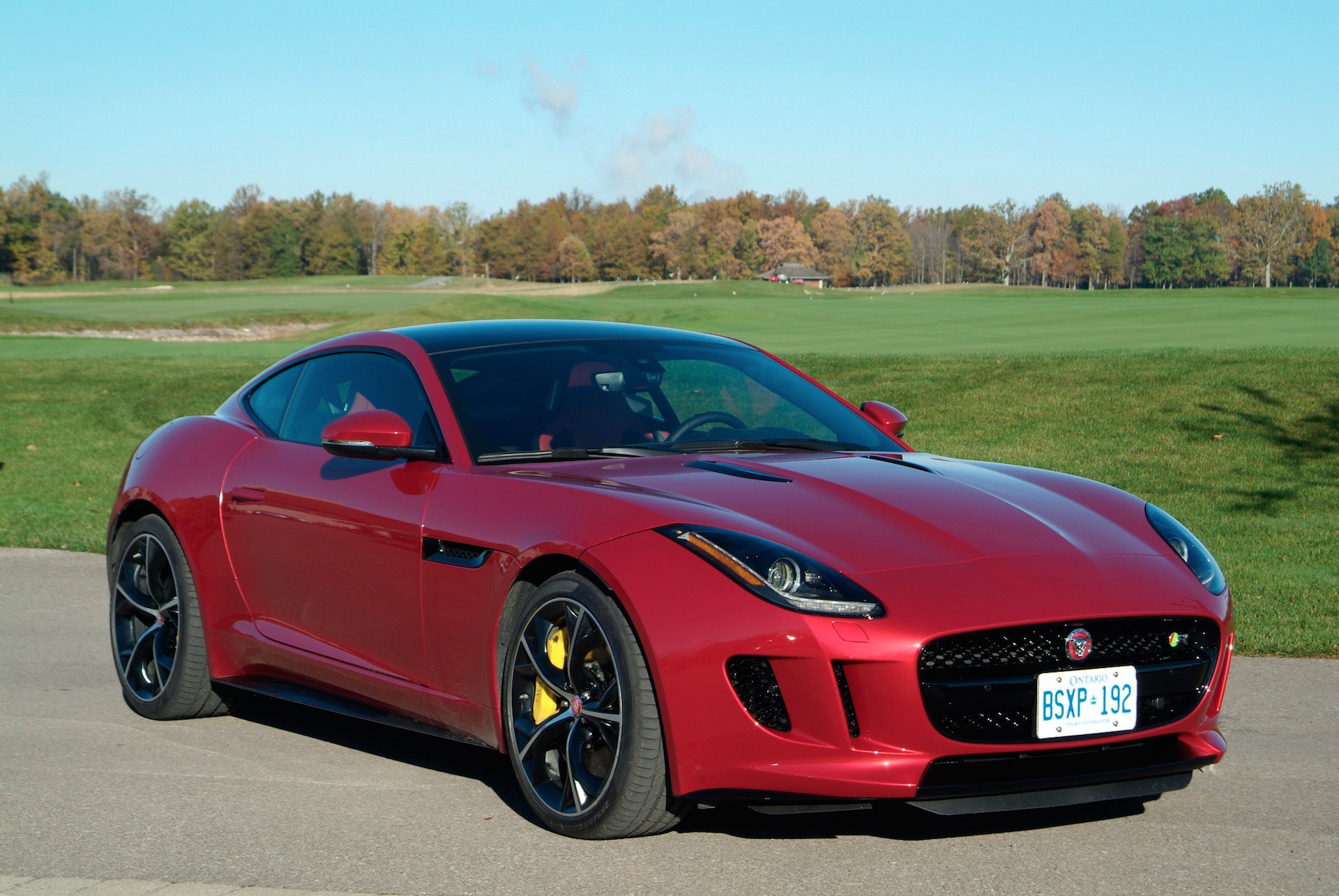 Jaguar F Type Red Jaguar F Type Coupe Red