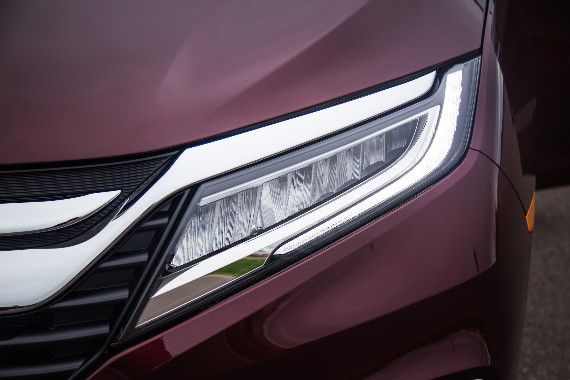 Regal Led Headlamp Honda Odyssey First Drive Review Car Reviews Car And Html