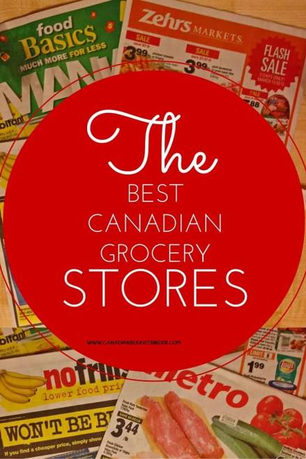 THE BEST CANADIAN GROCERY STORES