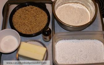 Holiday Snowballs Ingredients