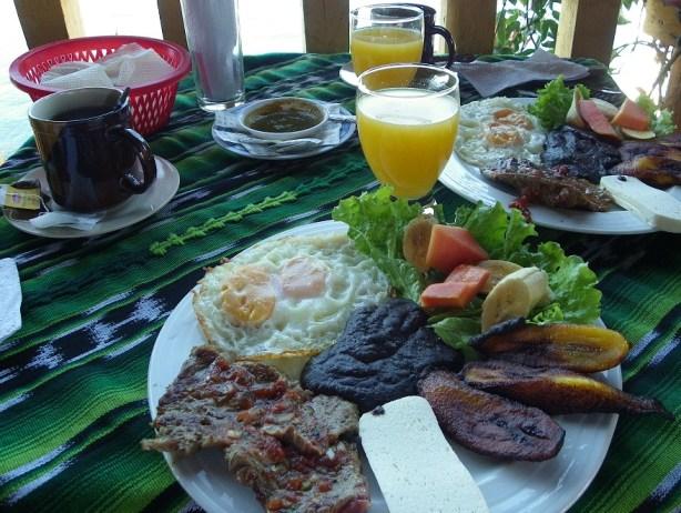 Dinner in Guatemala