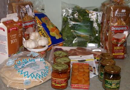 Grocery Game Challenge No Shop Week Feb