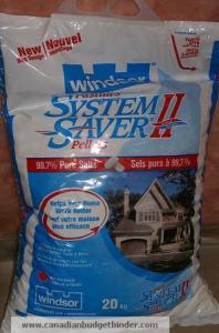 Windsor System Saver Water Softener Pellets