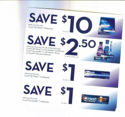 Canadian Coupons In The Mail March