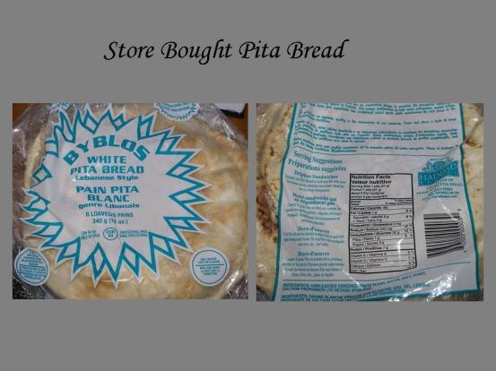 Store Bougth Pita Bread
