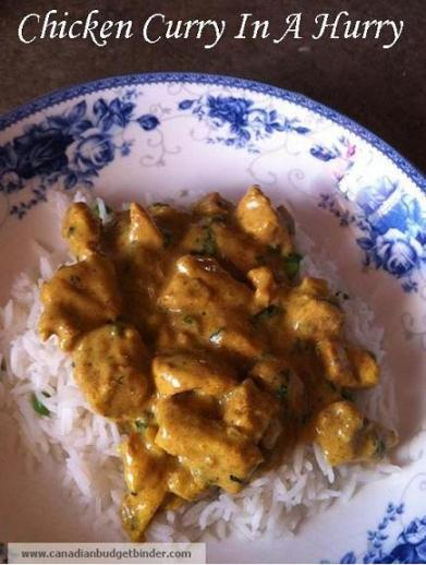 Chicken Curry In A Hurry CBB