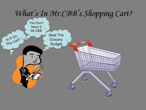 What's In MrCBB's Shopping Cart