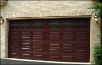 Extremely Light Fibre Glass Garage Door With Secure ...