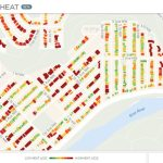 Canada's first urban heat loss map of over 500,000 homes