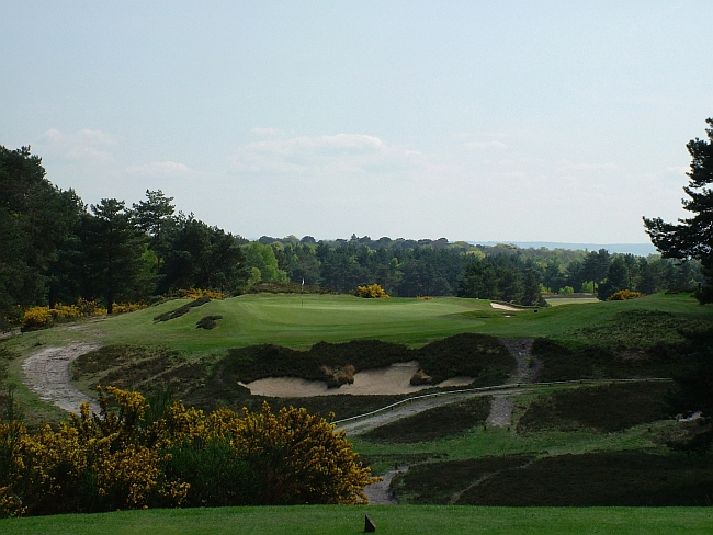 """Harry Colt's fine """"New"""" course at Sunningdale"""