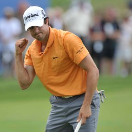 Adam-Hadwin-pumps-his-fist-after-finishing-his-2nd-round
