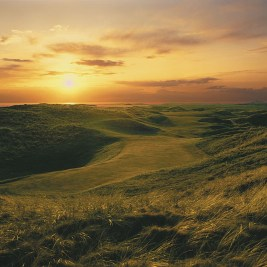 The 17th hole at Carne, in Ireland's remote North-West.