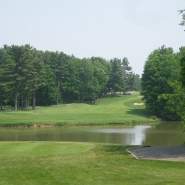 The closing hole at Heron Point.