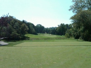 The terrific 7th hole at Scarboro.
