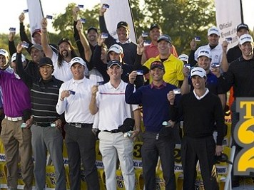 The Top 25 on the Web.com Tour who move to the PGA Tour next year. (courtesy of PGATour.com)
