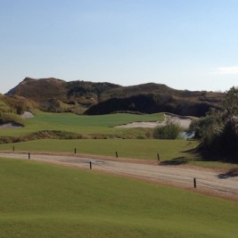 "The 6th shows the ""dunes"" that run throughout both courses."