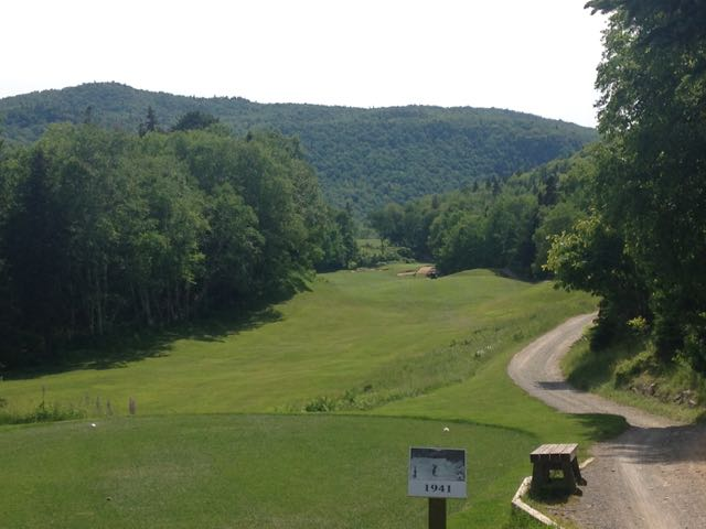 The 7th hole at Highlands Links was George Knudson's favourite par 5 in the world.