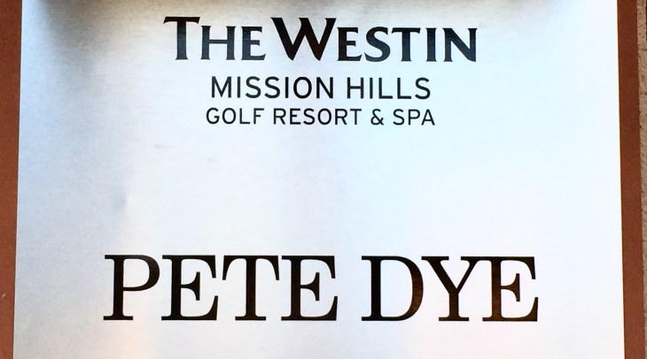 Pete Dye