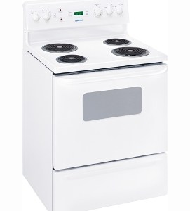 MCBS525RWW Moffat 30 Free Standing Electric Range Coil White