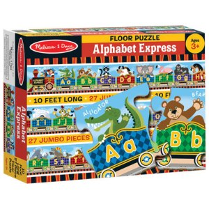 Alphabet Express Floor Puzzle - 27 Pieces