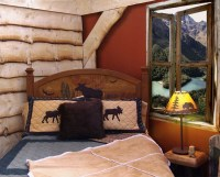 Kids Cabin Theme Bedrooms & Rustic Decor