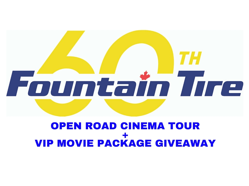 OPEN ROAD CINEMA TOUR+VIP MOVIE PACKAGE GIVEAWAY