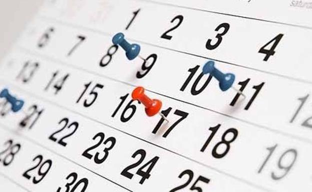 Así quedará el calendario de feriados 2019 \u2013 Canal C