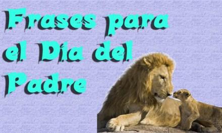 Feliz Día del Padre, Frases para el dia del Padre