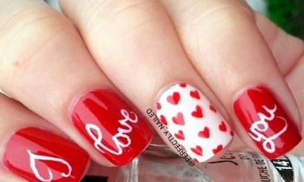 Diseño de Uñas para San Valentin 2
