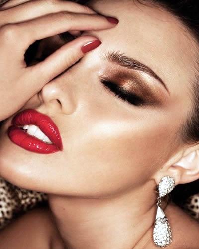 maquillaje de noche 15