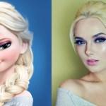 maquillaje de Elsa