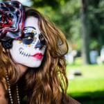fotos de maquillaje de Día de Muertos