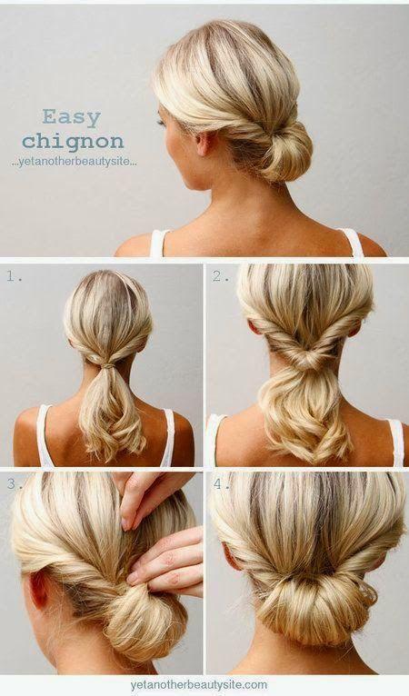 peinados faciles 13 - Peinados Sencillos